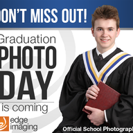 Grad Photo Day and Re-takes: Tuesday January 26